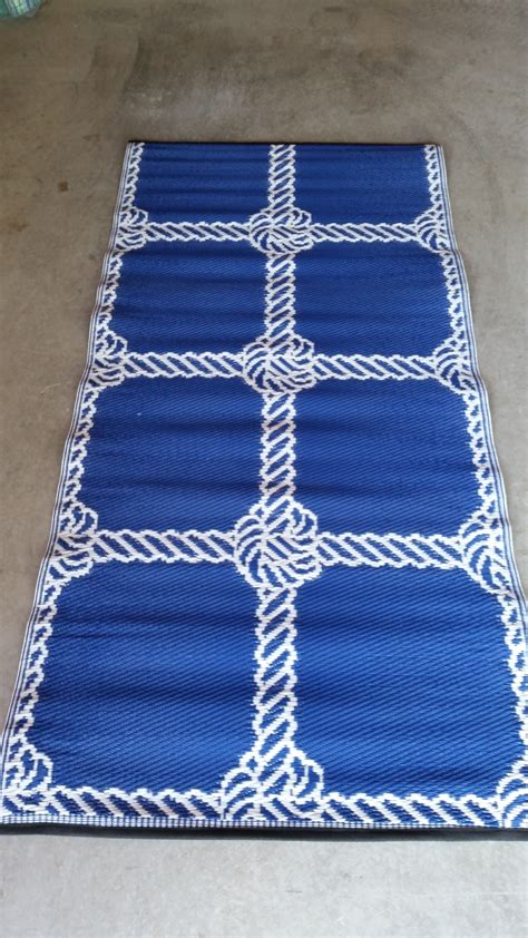 recycled material rugs rope design recycled plastic rug trific interiors