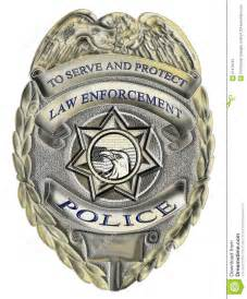 sheriff law enforcement police badge stock images image