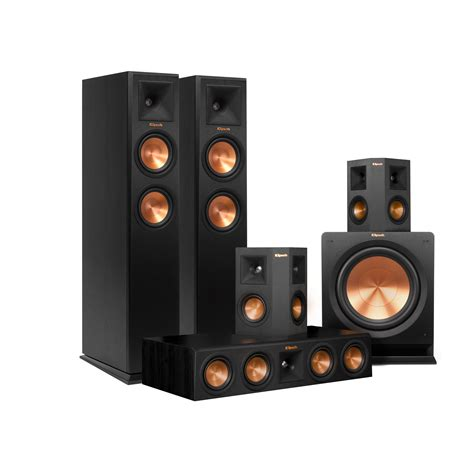b w home theatre speakers home review