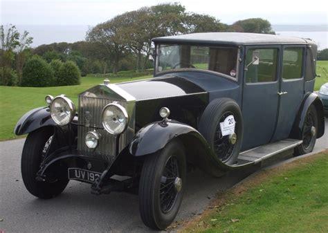 rolls royce car history history of pre war rolls royce cars rolls royce car club