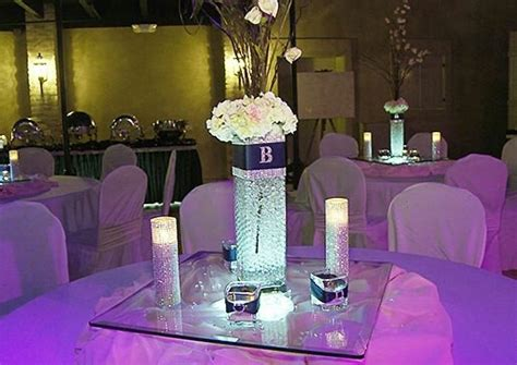 Bling Wedding Reception Decorations by Blinged Out Reception Bling Style Wedding