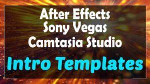 camtasia studio 8 intro templates 3d top 10 free intro templates 2018 sony vegas after effects camtasia topfreeintro com