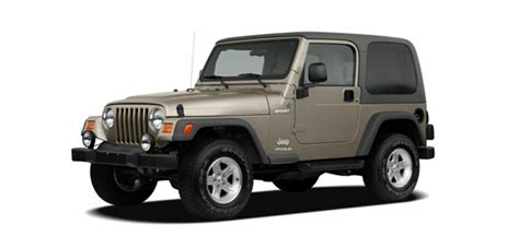2006 Jeep Wrangler Price 2006 Jeep Wrangler Reviews Specs And Prices