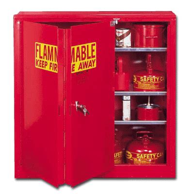 Paint Storage Cabinets Eagle Paint And Ink Storage Cabinet 1 Self Door 40 Gallon Capacity