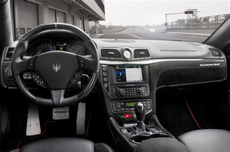 maserati granturismo coupe interior maserati granturismo review 2018 autocar