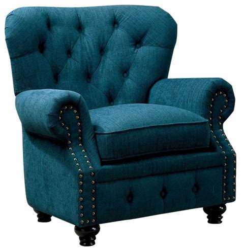 teal accent chair with arms stanford classic design rolled arms teal fabric arm