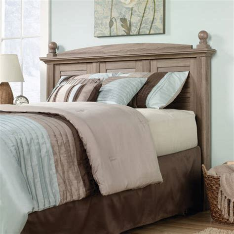 sauder harbor view dresser multiple finishes sauder harbor view collection full queen headboard