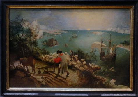 Landscape With The Fall Of Icarus Painting 301 Moved Permanently