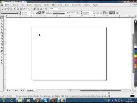 corel draw x6 y sus elementos ventana corel draw elementos videos videos