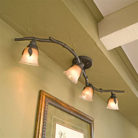 Installing A Vanity Light Tapesii Com Track Lighting Kitchen Ceiling Collection