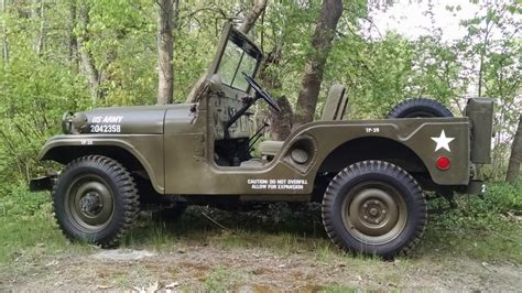 Korean War Jeep 1953 Willys M38a1 Jeep Korean War For Sale