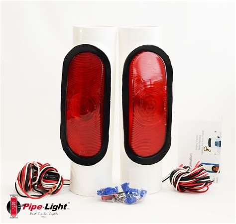 trailer lights boat trailer led pipe light kit 1020 wiring