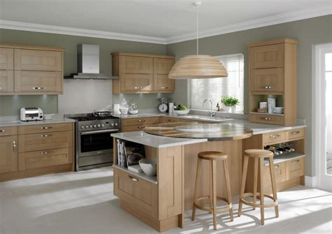grey kitchen insel shaker and painted kitchens
