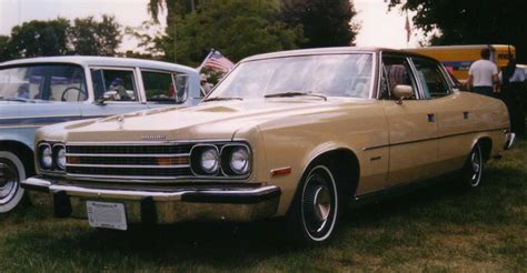 Four Door Sedan by File 1974 Amc Ambassador Brougham 4 Door Sedan Beige Jpg