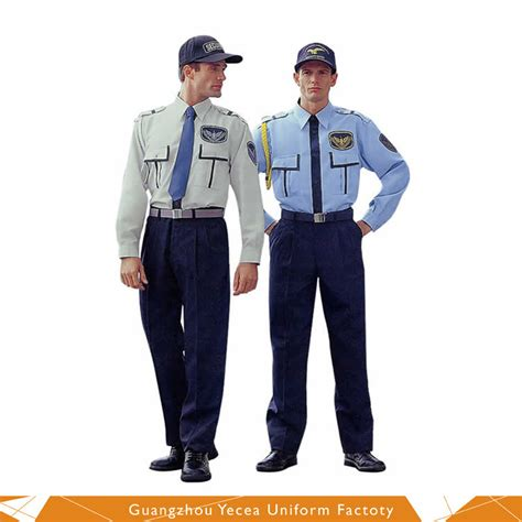 uniform accessories security accessories security wholesale security guard shirts military uniform dress