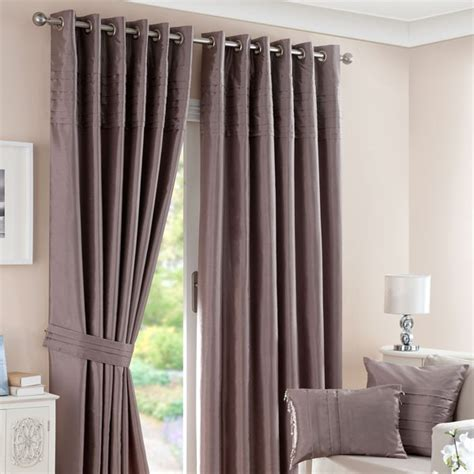 how to make pintuck curtains mink pintuck lined eyelet curtains home sweet home