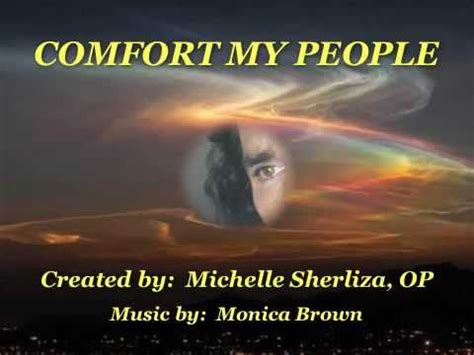 Comfort Ye Lyrics by Comfort Videolike