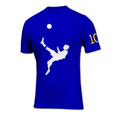 Ibrahimovic T Shirt zlatan ibrahimovic bicycle kick goal t shirt blue