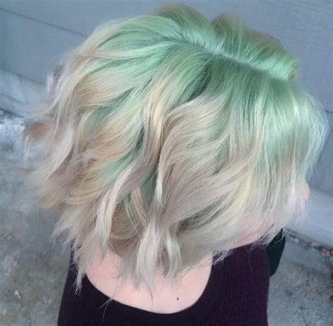 mint color hair 25 best ideas about mint hair color on mint