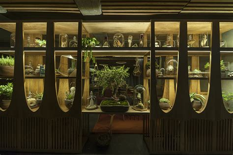 designboom xaman estudio atemporal adds a mystic spirit to xaman bar