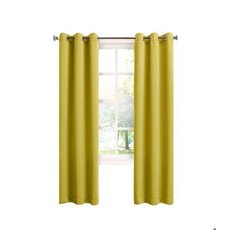 citrine curtains sun zero tovi citrine room darkening curtain panel 40 in