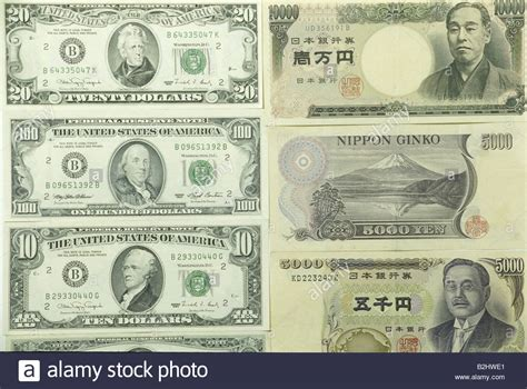 Note 1 In Japan money finance bank notes international us dollar and