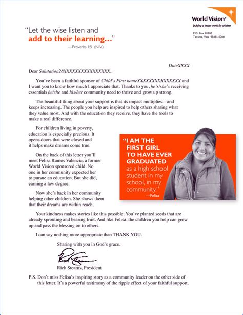 appeal letter for charity event direct mail fundraising appeal letter