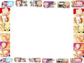 template anime untuk anime characters ppt background ppt backgrounds