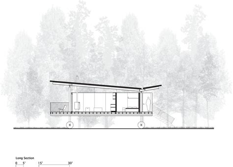 Box House Plans rolling huts olson kundig archdaily