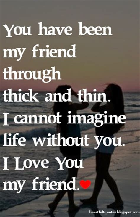 images of love you my friend love you my friend quotes image quotes at relatably com