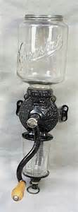 Wall Mounted Manual Coffee Grinder Meeker S Www Antiqbuyer Antique Coffee Mills Past