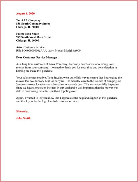 Customer Thank You Letter 5 Sle Letter Templates Customer Thank You Letter Template