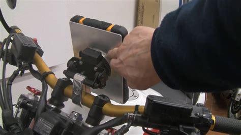 Motorrad Hebebühne Zum Selber Bauen by Tablet Halterung F 252 Rs Motorrad Bauen Die Zweite