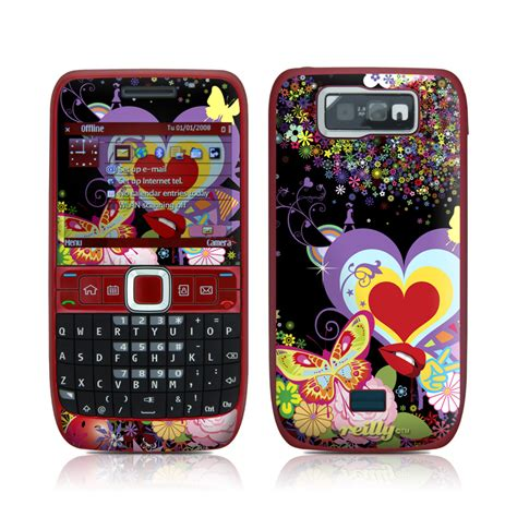 themes for e63 phone flower cloud nokia e63 skin istyles