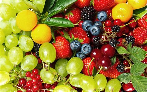fruity v verschillende soorten fruit mooie leuke achtergronden