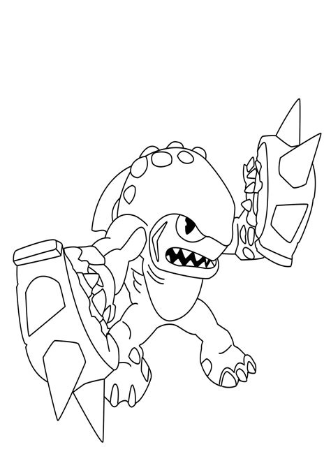 skylander giant s to print free coloring pages