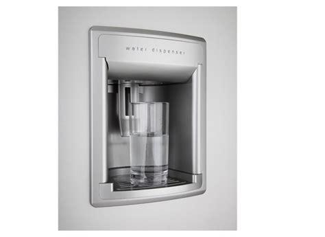 Plumbed Water Dispenser by Freestanding American Style Fridge Freezer Gnev220ap Beko Uk