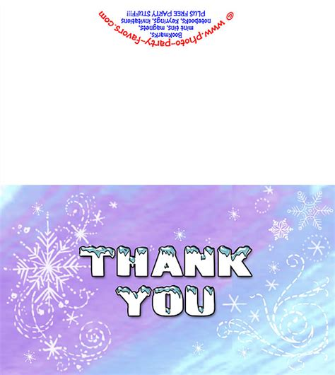free printable winter note cards free printable winter wonderland thank you card from