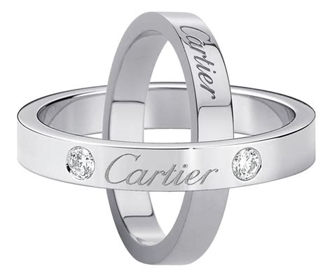 Wedding Rings Cartier by Cartier Wedding Rings Engraved With Cartier Wedding Ring