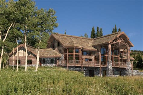 big sky log home plan floor plans 171 gallery of homes
