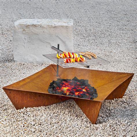 feuerstelle und grill feuerstelle und grill fluxus set g 228 rtner p 246 tschke