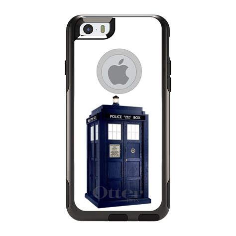 Iphone 5 5s Se Doctor Who Tardis Rustic Telephone Hardcase otterbox commuter for iphone 5s se 6 6s 7 plus tardis