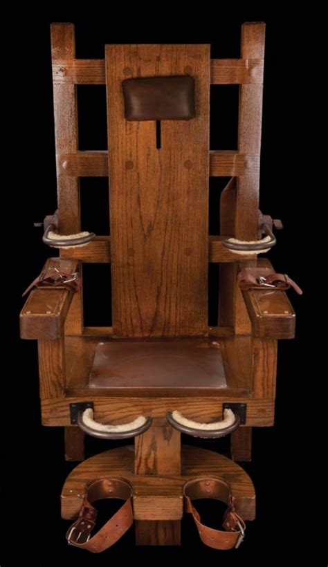 How To Make Electric Chair by 1589 Electric Chair From The Green Mile Lot 1589