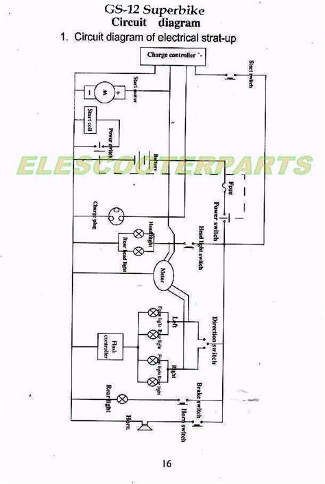 Wiring Diagram For 49cc Chinese Mini Chopper