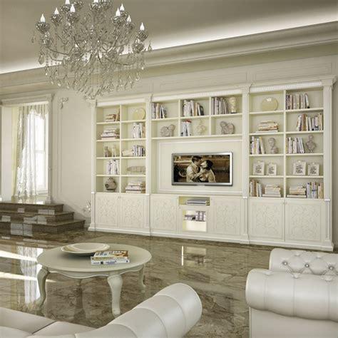 parete da soggiorno parete soggiorno in stile colore bianco