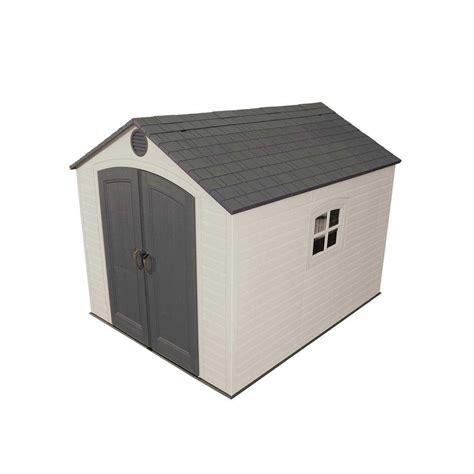 Lifetime 8 Ft X 10 Ft Outdoor Storage Shed lifetime 8 ft x 10 ft outdoor storage shed 6405 the