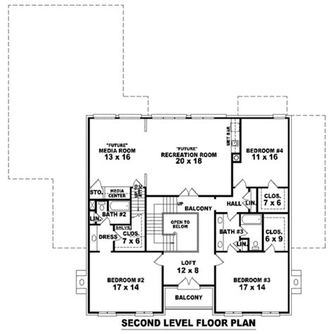 european style house plan 4 beds 3 5 baths 4177 sq ft