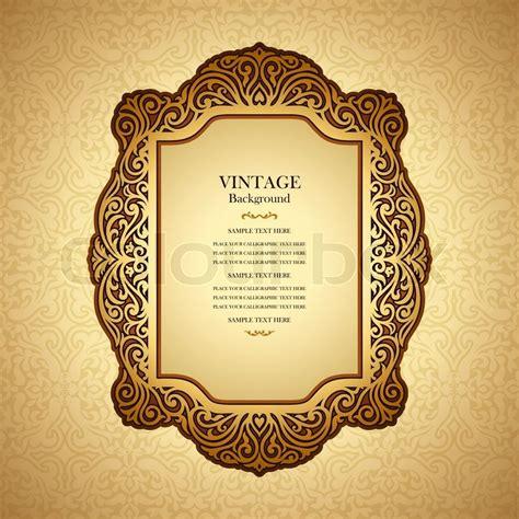 vintage layout book vintage background design elegant book cover victorian