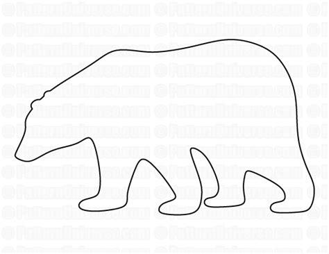 printable bear patterns