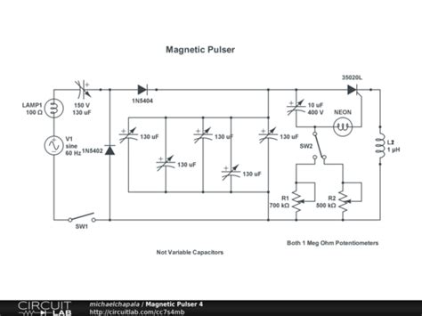 high voltage magnetic pulse generator using capacitor discharge technique magnetic pulse generator circuit